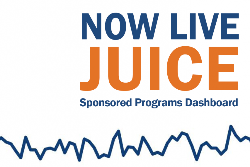 Graphic announcing Juice is now live, showing a line graph from Juice
